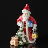 2016 The Annual Santa, Santa with hare and lantern, figurine