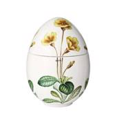 Spring bonbonniere with yellow primrose, Royal Copenhagen Easter Egg 2012