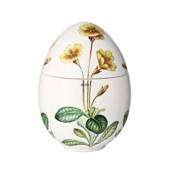 Spring bonbonniere with yellow primrose, Royal Copenhagen Easter Egg 2...