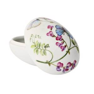 Spring bonbonniere with butterfly and bindweed, Royal Copenhagen Easter Egg 2012 | Year 2012 | No. 1249920 | Alt. R1249920 | DPH Trading
