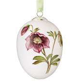 Easter egg with Helleborus orientalis, large, Royal Copenhagen Easter Egg 2...