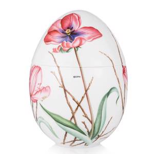 Anniversary Bonbonniere with tulip, standing, Royal Copenhagen Easter Egg 2015 | Year 2015 | No. 1249958 | Alt. 1018228 | DPH Trading