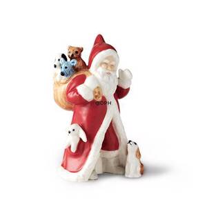 2017 The Annual Santa, Santa with gifts and dog, figurine | Year 2017 | No. 1249986 | Alt. 1021111 | DPH Trading