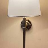 Wall lamp in Brass Finish without lampshade