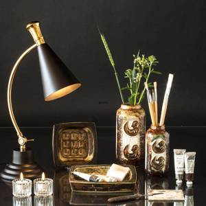 Table lamp Brass finish and black 55cm | No. 12510 | Alt. 71-759-55 | DPH Trading