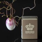 Easter egg with magnolia petals, Royal Copenhagen Easter Egg 2019