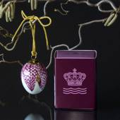 Easter egg with fritillary petals, Royal Copenhagen Easter Egg 2019