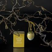 Easter egg with dandelion petals, Royal Copenhagen Easter Egg 2020