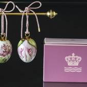 Easter egg with Pompom poppy and Pompom poppy petals, 2 pcs., Royal Copenha...