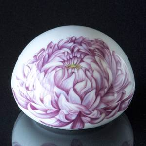 Bonbonniere with Chrysanthemum, Royal Copenhagen Easter Egg 2021 | Year 2021 | No. 1252050 | Alt. 1057772 | DPH Trading