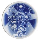 2006 The Children's Christmas plate 1st day issue plate with plaq., Royal C...