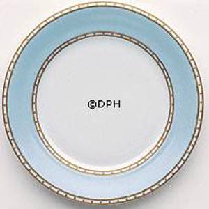 Liselund, Plate,Low profile, light blue | No. 1270627 | Alt. 1270627 | DPH Trading