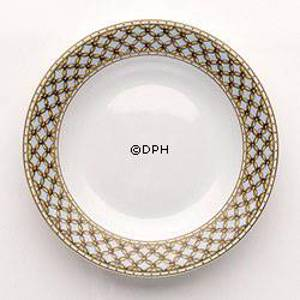 Liselund, Plate,deep, light blue plaited | No. 1271605 | DPH Trading