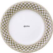 Liselund, plate, Low profile, Light blue, Royal Copenhagen