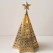 Christmas Tree in Gold Finish 44 cm, Small  (Expected for delivery mid Nove...