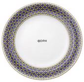 Liselund, Plate Low profile, Dark blue