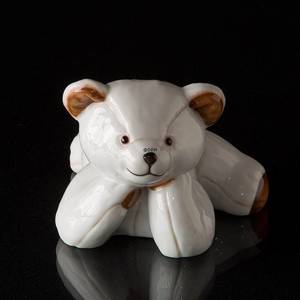 Julius White Teddy Polar Bear Small, Royal Copenhagen figurine