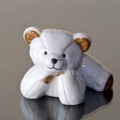 Julius White Polar Bear Medium, Royal Copenhagen figurine