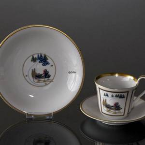 1998 Bing & Grondahl Christmas Cup w/dessert plate, set | Year 1998 | No. 1298049 | DPH Trading