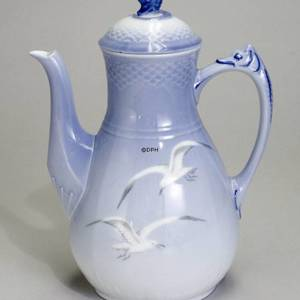 Service Seagull without gold, Coffee pot 150 cl., large | No. 1300126 | DPH Trading