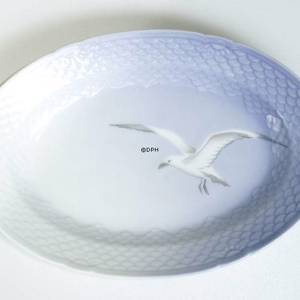 Service Seagull without gold, oval dish 25cm