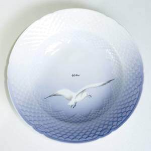 Service Seagull without gold, deep plate 19.5cm | No. 1300604 | DPH Trading