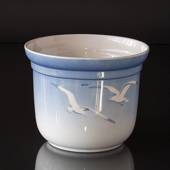 Seagull Service without gold, flower pot, large