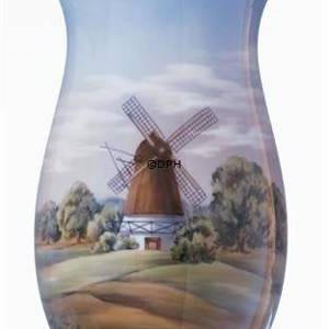 Vase with mill, Royal Copenhagen | No. 1302817 | DPH Trading