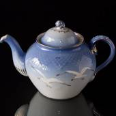 Seagull Service with gold teapot, capacity 7.5 dl, Bing & Grondahl - Royal ...