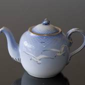 Seagull Service with gold teapot, capacity 100 cl, Bing & Grondahl - Royal ...