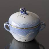Seagull Service with gold Sugar Bowl, Bing & Grondahl - Royal Copenhagen