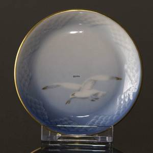 Seagull Service with gold small round dish 10cm | No. 1303332 | Alt. 3-332 | DPH Trading