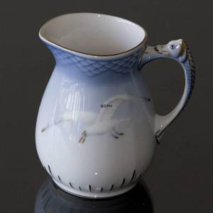 Seagull Service with gold, Cream Jug, capacity 15 cl., Bing & Grondahl - Ro...
