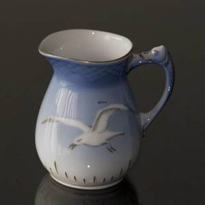 Seagull Service with gold, Cream Jug, capacity 2.5 dl., Bing & Grondahl - R...