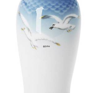 Seagull Service with gold, vase, medium | No. 1303678 | Alt. 3-678 | DPH Trading