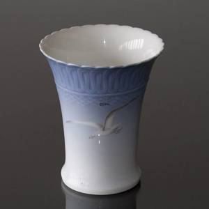 Seagull Service with gold, vase, Bing & Grondahl - Royal Copenhagen