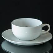 Blue Line, small Coffee Cup with saucer, capacity 15 cl, Royal Copenhagen