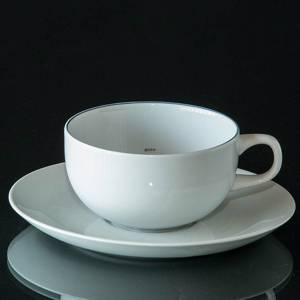 Blue Line, small Coffee Cup with saucer, capacity 15 cl, Royal Copenhagen | No. 1358068 | DPH Trading