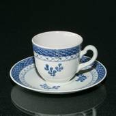 Royal Copenhagen/Aluminia Tranquebar  blue,coffee cup 1.2 dl
