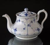 Blue traditional Tea Pot, Blue Fluted Bing & Grondahl