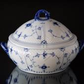 Blue traditional Small Tureen, Blue Fluted Bing & Grondahl