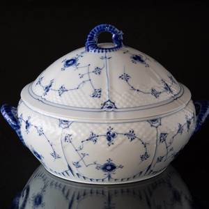 Blue traditional Small Tureen, Blue Fluted Bing & Grondahl | No. 1415181 | DPH Trading