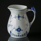 Blue traditional cream jug, Blue Fluted Bing & Grondahl