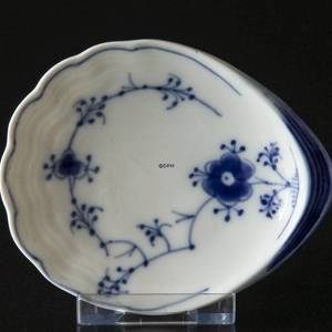 Blue traditional pickle dish, Blue Fluted Bing & Grondahl | No. 1415330 | DPH Trading