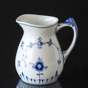 Blue traditional cream jug, small 1.5 dl. Blue Fluted Bing & Grondahl | No. 1415393 | Alt. 4815-85B | DPH Trading