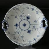 Blue traditional Cake dish 26 cm, Blue Fluted Bing & Grondahl