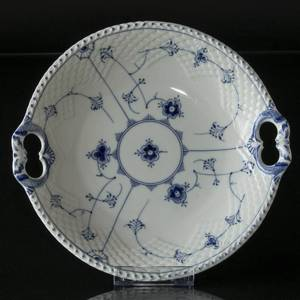 Blue traditional Cake dish 26 cm, Blue Fluted Bing & Grondahl | No. 1415422 | Alt. 4815-304 | DPH Trading