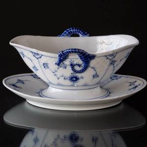 Blue traditional Sauce Boat, Blue Fluted Bing & Grondahl | No. 1415563 | Alt. 4815-8 | DPH Trading