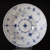 Blue traditional Deep plate 21 cm, Blue Fluted Bing & Grondahl