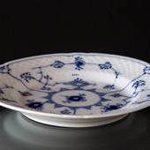 Blue traditional flat plate15,5 cm, Blue Fluted Bing & Grondahl Catering Is...